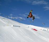 skoku snowboard Obraz Royalty Free