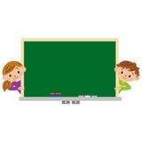 Skola barn, studie Arkivbild