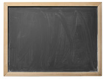 Skola blackboarden som isoleras Royaltyfri Fotografi