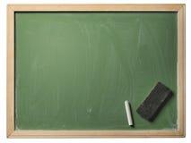 Skola blackboarden som isoleras Royaltyfria Bilder