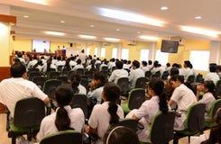 Skola- & collagekonferens Arkivfoton