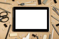 Skola- eller kontorstillförsel Arkivbild