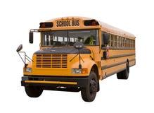 skola för 2 buss Royaltyfri Foto