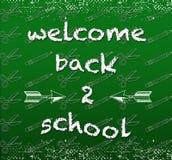 skola för 2 back Royaltyfria Foton