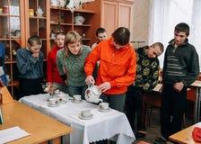 Skola för barn med intellektuella handikapp Royaltyfri Foto