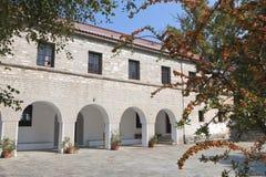 skola för greece gammal pelionportaria Arkivbilder