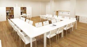 skola för interior 3d Arkivbilder