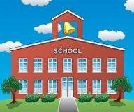 Skola huset Arkivbild