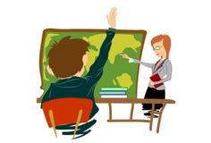 Skola lärare Royaltyfria Bilder