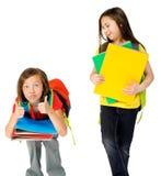 Skola ungar Royaltyfria Bilder