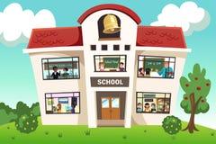 Skolaaktivitet Arkivbild