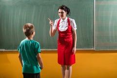 Skolabestraffningen Royaltyfria Foton
