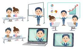 Skolaförälder-lärare conference_3 Arkivfoton