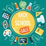 Skolaförsäljning Arkivbild