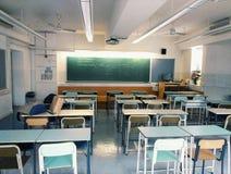 Skolaklassrum Royaltyfri Foto