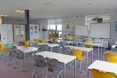 Skolaklassrum Arkivfoto