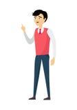 Skolalärare Character Royaltyfri Bild