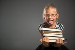 Skolaliten flicka Royaltyfri Bild