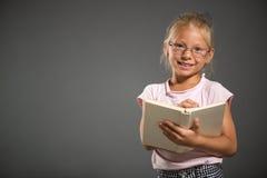 Skolaliten flicka Royaltyfri Fotografi