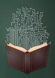Skolamatematikformel Royaltyfri Bild