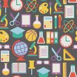 Skolamodell vektor illustrationer