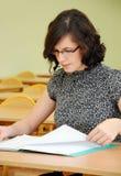 skolastudies Arkivbild