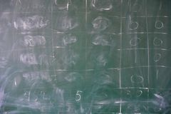 Skolasvart tavlatextur royaltyfri foto