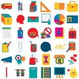 Skolasymbol 2 stock illustrationer