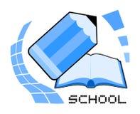 Skolasymbol Royaltyfri Fotografi