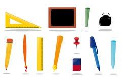 Skolautrustning Royaltyfri Bild