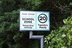 Skolazon tjugo behar alldeles tecknet för drev försiktigt royaltyfria foton