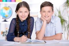 Skolbarn royaltyfria bilder