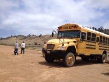 Skolbuss av Kalifornien Arkivbilder