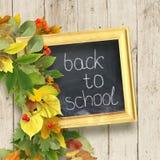 skolförvaltning med den inskrift`-första September `en, Royaltyfri Fotografi