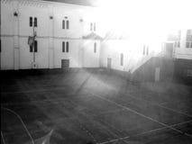 Skolgård Royaltyfri Bild