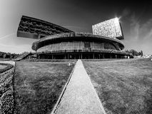 Building of Moscow School of Management SKOLKOVO royalty free stock photos