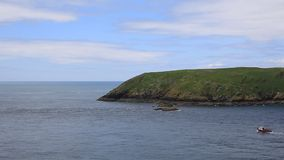 Skomer Island West Wales PAN Royalty Free Stock Photos