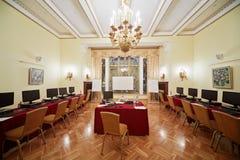 Skomputeryzowana sala konferencyjna Orlikov Fotografia Stock