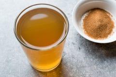 Skoncentrowany Ziołowej herbaty proszek dla żołądka Żołądkowego problemu, cytryny Doprawiających/ zdjęcie stock