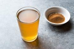 Skoncentrowany Ziołowej herbaty proszek dla żołądka Żołądkowego problemu, cytryny Doprawiających/ obraz royalty free
