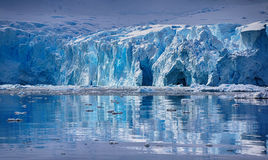 Skongtor Cove in Paradise Harbour, Antarctica Stock Image