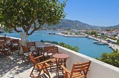 Skopelos海岛在希腊 库存照片