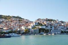 Skopelos海岛,希腊 库存图片