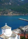 Skopelos海岛,希腊 免版税库存照片