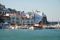 Skopelos ö, Grekland Fotografering för Bildbyråer