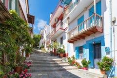Skopelos foto de stock royalty free