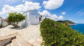 Skopelos Fotografering för Bildbyråer