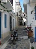 Skopelos d'île en Grèce photographie stock