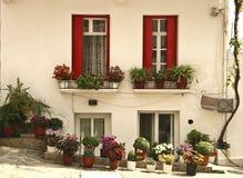 Skopelos House royalty free stock image