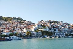 Skopelos Insel, Griechenland Stockbild